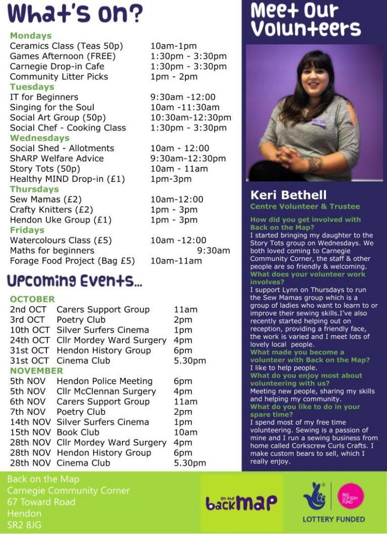 Newsletter Oct 19 - Back
