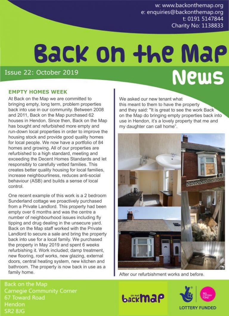 Newsletter Oct 19 - Front