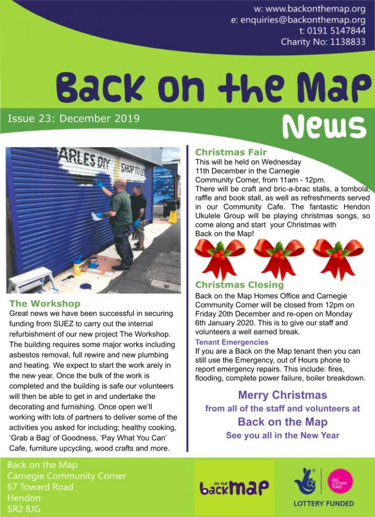 Newsletter Dec 19 - Front